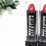 De Ultra Budget Lipsticks van Max & More